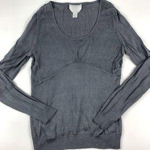 Talbots Petites Long Sleeve Pure Silk Sweater PM